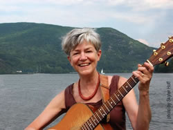 Lydia at Hudson River Quadracentennial Celebraton